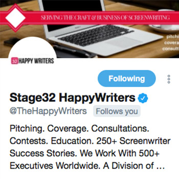 Stage32 Happy Writers