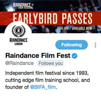 Raindance Film Fest