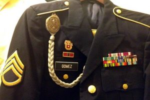 Military Uniform Rolando Gomez, photographer, author, screenwriter, writer, director